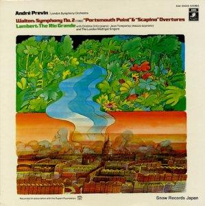 アンドレ・プレヴィン - ウォルトン:交響曲第2番 - EAA-85055