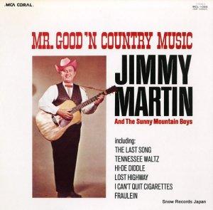 ジミー・マーティン - ミスター・グッドン・カントリー・ミュージック - MCL-1088