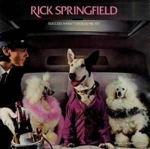 リック・スプリングフィールド - success hasn't spoiled me yet - AFL1-4125