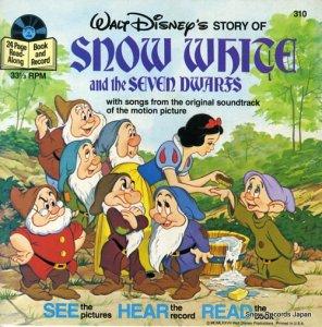 ウォルト・ディズニー - snow white and the seven dwarfs - DISNEYLAND310