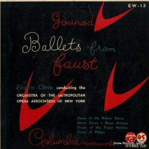 ファウスト・クレヴァ - 歌劇「ファウスト」舞踊音楽 - EW-15