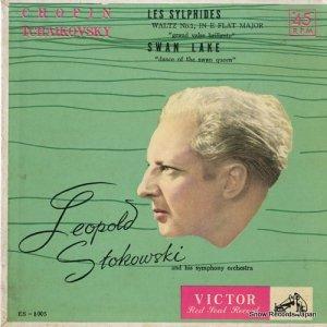 レオポルド・ストコフスキー - 華麗なる円舞曲(ショパン)ー舞踊組曲「空気の精」より - ES-8005