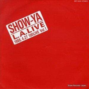 ショーヤ - l.a.live 1988.4.27 100live vol.1 - BRT-4009