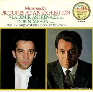 ヴラディーミル・アシュケナージ - ムソルグスキー:組曲「展覧会の絵」 - SLC6098