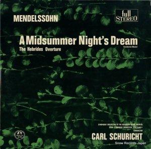 カール・シューリヒト - メンデルスゾーン:真夏の夜の夢 - SM-2214