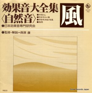 日本効果音専門研究会 - 効果音大全集<自然音>「風」 - CC(H)-762
