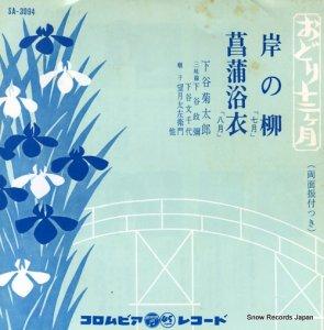 下谷菊太郎 - 岸の柳 - SA-3094