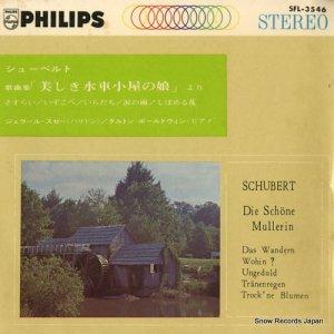 ジェラール・スゼー - シューベルト:歌曲集「美しき水車小屋の娘」より - SFL-3546