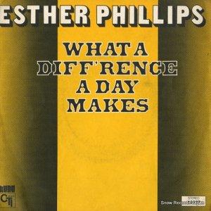 エスター・フィリップス - what a diff'rence a day makes - 42527