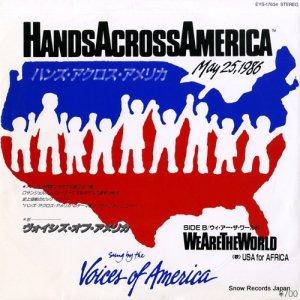 ヴォイシズ・オブ・アメリカ - ハンズ・アクロス・アメリカ - EYS-17634