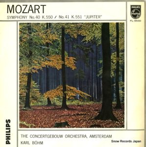 カール・ベーム - モーツァルト:交響曲第40番/第41番「ジュピター」 - FL-5530