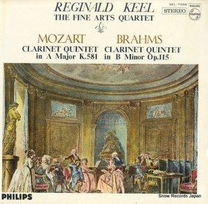レジナルド・ケル - モーツァルト:クラリネット五重奏曲イ長調 - SFL-7988