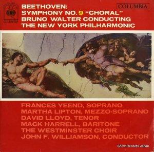 ブルーノ・ワルター - ベートーヴェン:交響曲第9番「合唱」 - OL-180