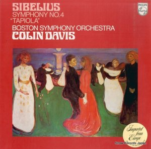 コリン・デイヴィス - sibelius; symphony no.4 / tapiola - 9500143