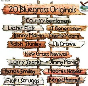 V/A - 20 bluegrass originals - GD-5029X