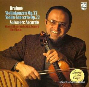 SALVATORE ACCARDO - brahms; violinkonzert op.77 - 9500624