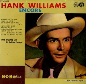 ハンク・ウィリアムス - ハンク・ウィリアムス・アンコール - ZL-5017