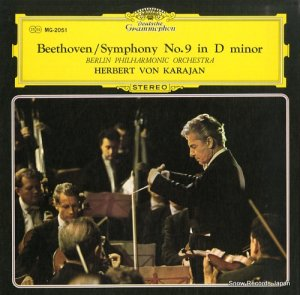 ヘルベルト・フォン・カラヤン - ベートーヴェン:交響曲第9番「合唱」 - MG-2051