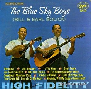 ブルー・スカイ・ボーイズ - together again - SLP257