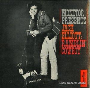 JACK ELLIOTT - ramblin' cowboy - MF379