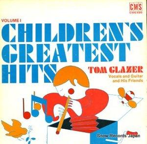 TOM GLAZER - children's greatest hits vol.1 - CMS689