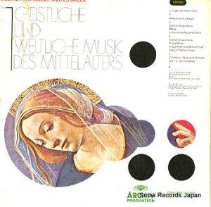 V/A - 中世の宗教音楽と世俗音楽 - MI2517-8