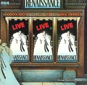 ルネッサンス - カーネギー・ホール・ライブ - RCA-9117-18