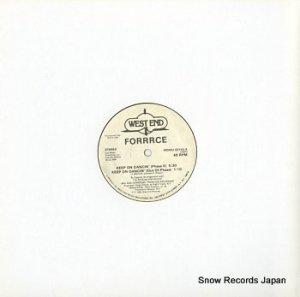 FORRRCE - keep on dancin' - WESDJ22143