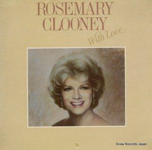 ローズマリー・クルーニー - rosemary clooney with love - CJ-144