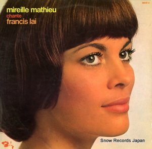 ミレイユ・マチュー - chante francis lai - 80451U