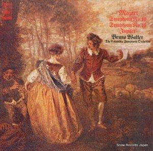 ブルーノ・ワルター - モーツァルト:交響曲第40番&41番「ジュピター」 - SOCL1005
