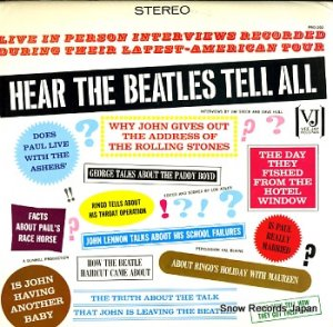 ザ・ビートルズ - hear the beatles tell all - PRO-202