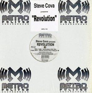 STEVE COVA - revolution - MPU115