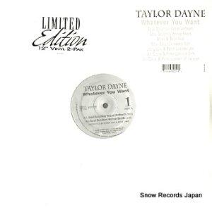 テイラー・デイン - whatever you want - LMTEDSTO2