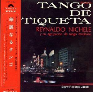 レイナルド・ニチェレ - 華麗なるタンゴ - SMP-1438