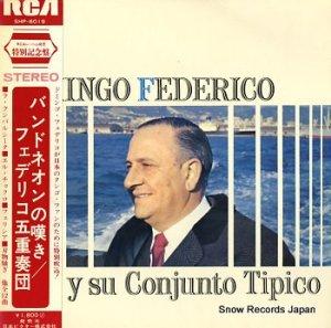 フェデリコ五重奏団 - バンドネオンの嘆き - SHP-6019