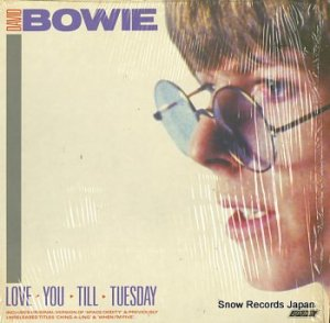 デビッド・ボウイ - love you still tuesday - 820083-1R-1
