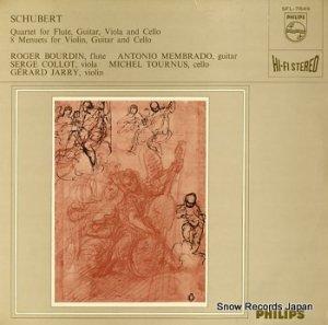 ロジェ・ブールダン - フルート、ギター、ヴィオラ、チェロのための四重奏  - SFL-7849