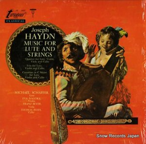 HAYDN JOSEPH - music for lute and strings - TV34227