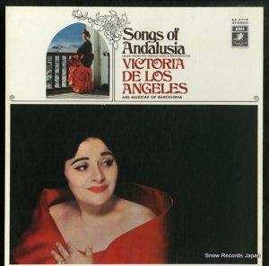 ヴィクトリア・デ・ロス・アンヘレス - アンダルシーアの歌 - AA-9719