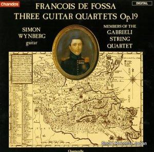 サンモン・ワインバーグ - フランソワ・デ・フォッサ ギター四重奏 - ABRD1109