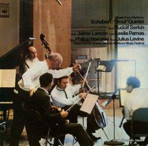 ルドルフ・ゼルキン - シューベルト:ピアノ五重奏曲「ます」 - SOCL1060