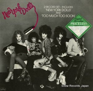 ニューヨーク・ドールズ - new york dolls/too much too soon - PRID12