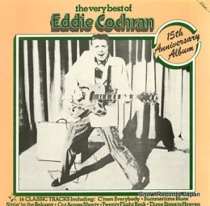 EDDIE COCHRAN - the very best of eddie cochran - FA3019