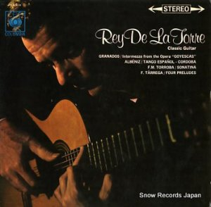 レイ・デ・ラ・トルレ - ギター・リサイタル - OS-319