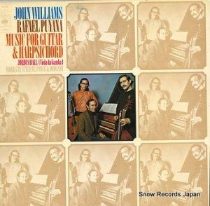 ジョン・ウィリアムズ / ラファエル・プヤーナ - music for guitar and harpsichord - 72948