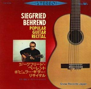 ジークフリート・ベーレント - ポピュラー・ギター・リサイタル - LW-5058
