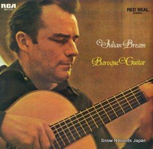 ジュリアン・ブリーム - バロックのギター名曲集 - SRA-2141