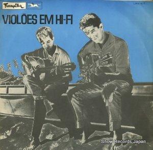 ALTAMIR PENHA / EDISON PENHA - violoes em hi-fi - LPFA-423
