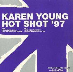 カレン・ヤング - hot shot '97 - DISNT37